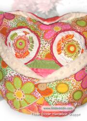 Set of Owl Pillow (Pillow and an Owl Pillowcase): Lalo