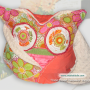 one-of-a-kind handmade owl pillow